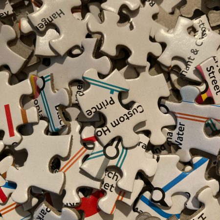 Image of jigsaw puzzle pieces illustrating Fairisle home page text Need to make changes, but don't know where to start?