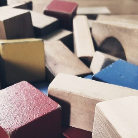 Image of building blocks for article on an alternative to change management