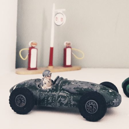 Image of a toy racing car illustrating the Fairisle article Find your focus