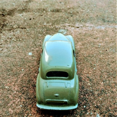 Image of vintage toy car illustrating the Fairisle article Get your change started